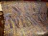 Mantelstoff aus handgesponnener Wolle
