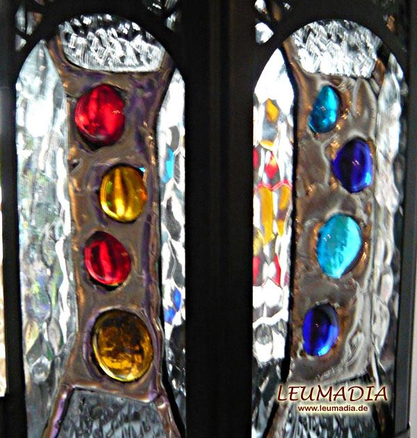 Glasnuggets ins richtige Licht gestellt
